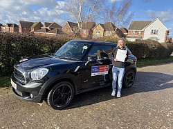 A first time pass for Natalie