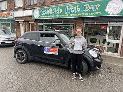 1st time pass for Maddy September 2020