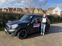 A first time pass for Natalie February 2020