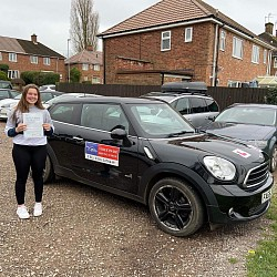 First time pass for Grace January 2020